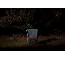 Vacant chair Photographic Print
