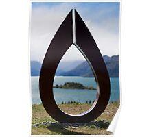 Rippon vineyard sculpture #3 Poster