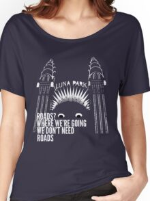 All Roads Lead to Luna Park Women's Relaxed Fit T-Shirt