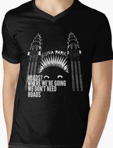All Roads Lead to Luna Park Mens V-Neck T-Shirt