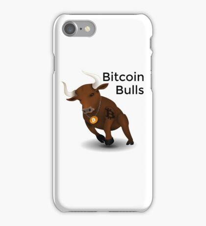 Bitcoin Bulls iPhone Case/Skin