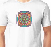 Metatron's Cube Mandala Unisex T-Shirt