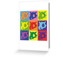 Pokemon - Cubone Pop Art Greeting Card