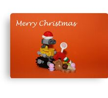 Merry Christmas - Wall E Canvas Print