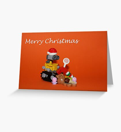 Merry Christmas - Wall E Greeting Card