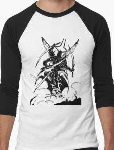 Inktober 5, 2015 - Boss Fight Men's Baseball ¾ T-Shirt