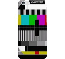 TV TEST SIGNAL II iPhone Case/Skin