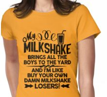 My Milkshake - Buy Your Own Womens Fitted T-Shirt
