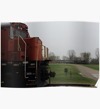 Trains Poster