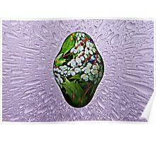Easter Egg Teardrop Poster