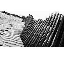 Dune Fence Photographic Print