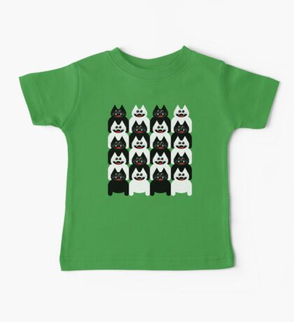 CROWD OF CATS Baby Tee