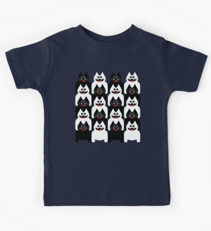 CROWD OF CATS Kids Tee