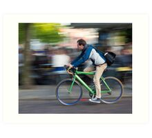 Commute Art Print
