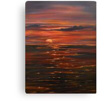 Journey Within-oil painting-alleyvision Canvas Print