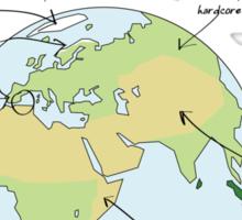 Earth: A Guide Sticker