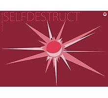 Selfdestruct Photographic Print