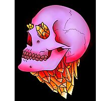 Crystal and Skull Photographic Print