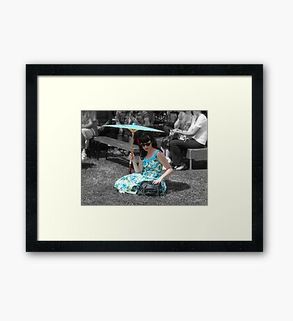 Beautiful! Framed Print