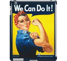 We Can Do It - Rosie the Riveter iPad Case/Skin