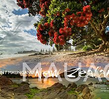Mauao by Ken Wright