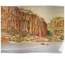 Katherine Gorge northern territory australia Poster
