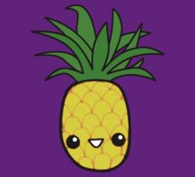 Smiley Pineapple by madmoocow