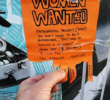 Women Wanted in Brunswick by Darren Stones