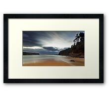Sand of Wattamolla Framed Print
