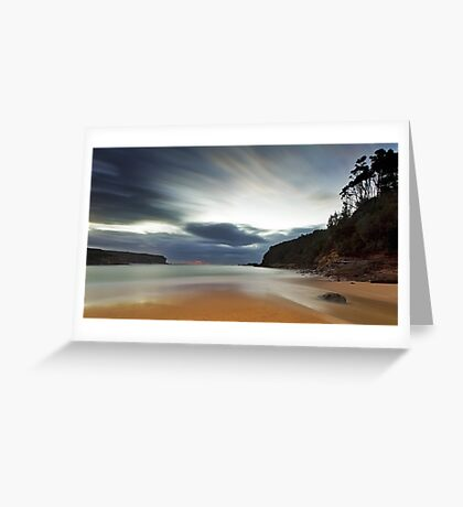 Sand of Wattamolla Greeting Card