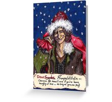 Once a Christmas Greeting Card