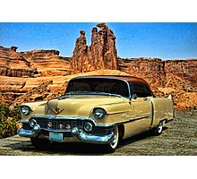 1954 Cadillac Coupe deVille Photographic Print