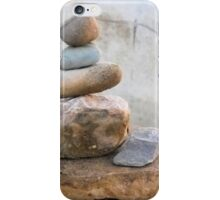 The rocks. perfect balance and serenity. iPhone Case/Skin