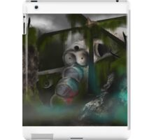 Downed Helicopter iPad Case/Skin