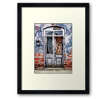 The Doors. Framed Print