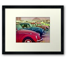 Nothing's gonna change my world Framed Print