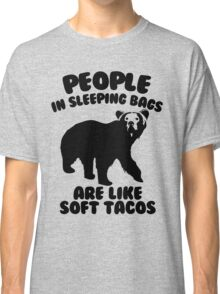 Camping Humor - Bear Food Classic T-Shirt