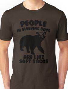 Camping Humor - Bear Food Unisex T-Shirt