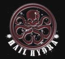 Hydra on black Kids Clothes