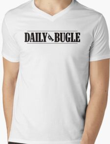 Daily Bugle Mens V-Neck T-Shirt