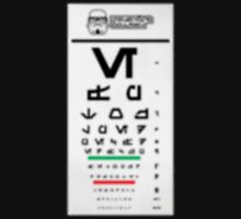 Stormtrooper Eye Exam Unisex T-Shirt