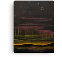 Electric Universe-oil painting-alleyvision Canvas Print