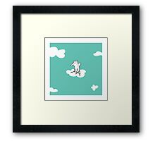 Flying Fox by Amanda Jones Framed Print