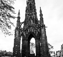 The Scott Monument Edinburgh by tunna