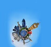 iPhone 4 Case: Little Planet London by Yhun Suarez