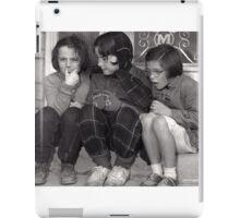 Girls on the Steps iPad Case/Skin