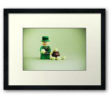 Green Gold Framed Print