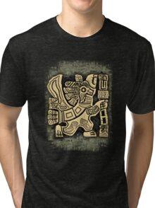 Aztec Eagle Warrior Tri-blend T-Shirt