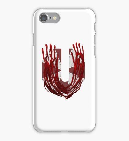 Geek letter U iPhone Case/Skin