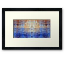 Sterling Blue Framed Print